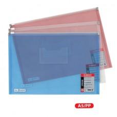 Fascikla PVC sa ZIPom A5