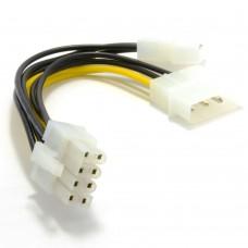 Kablo 8-PIN - 2 x Molex