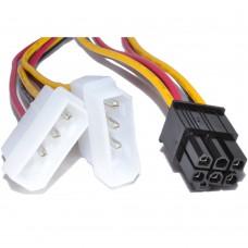 Kablo 6-PIN - 2 x Molex