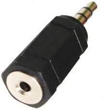 2.5 mm -> 3.5 mm audio adapter
