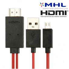 Kablo MHL mobitel/tv 2m