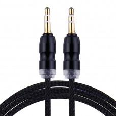 Kablo Audio 3,5 mm crni 1 M