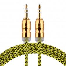 Kablo Audio 3,5 mm žuti 1 M