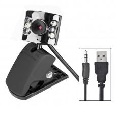 Web kamera sa mikrofonom i LED osvjetljenjem 5 Mpx