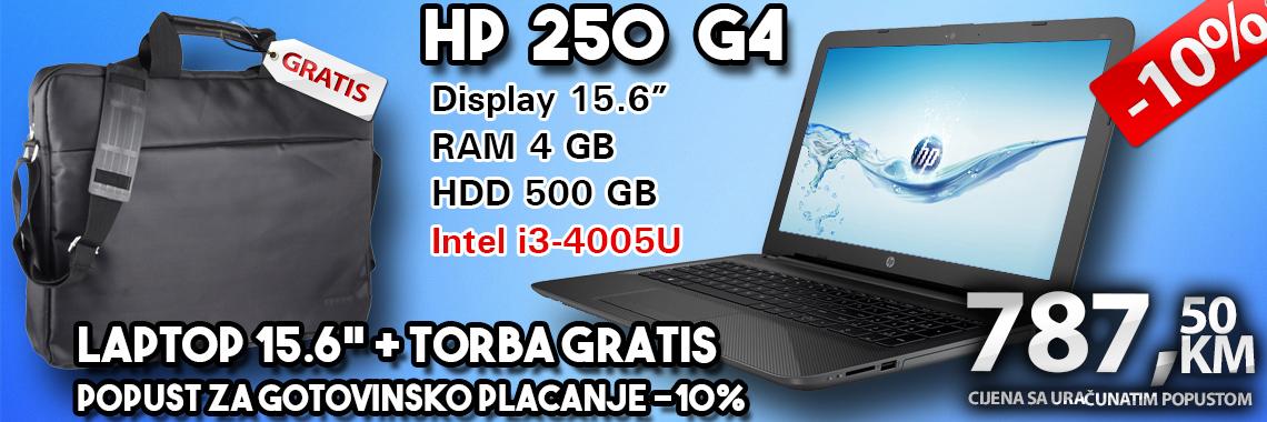 HP 250 G4 Akcija Torba gratis
