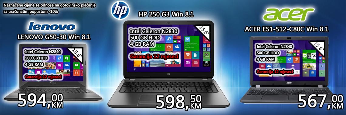Ponuda laptopa
